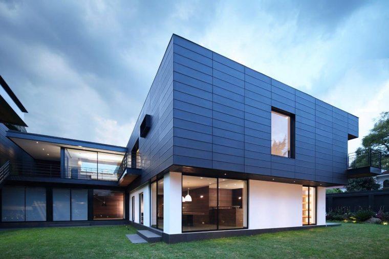 фасад современного дома