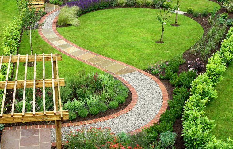 Садовые дорожки как сделать